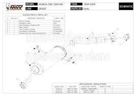 list of honda cbr models mivv approved muffler kat u oval steel honda cbr 1000 rr 2004 04