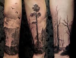 simple stuff forest tree tattooshunter com