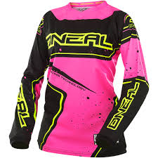 motocross gear for girls oneal 2017 new mx youth element hi viz pink girls motocross gear