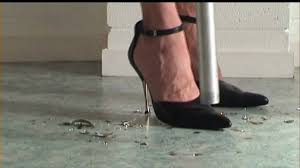 vacuuming in high heels baubles youtube