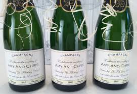 Wedding Gifts Engraved Personalised Wedding Gift Champagne Lading For