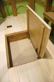 Small Floor Cabinet With Doors 65 Best Floor Storage Images On Pinterest Trap Door Stairs And