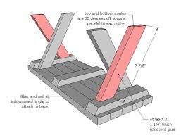 Plans For Picnic Tables by Ana White Doll X Picnic Table And Bench Set Diy Projects