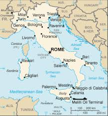 rome on a map history ancient rome for