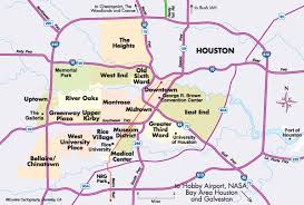houston map districts houston map by neighborhoods