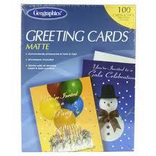 blank white matte greeting cards w envelopes 5 5x 8 5 44824
