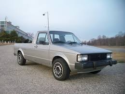 volkswagen truck 1981 vw rabbit diesel pickup truck this thing got about 50 mpg