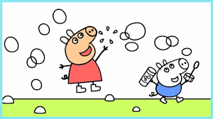 peppa pig coloring pages peppa coloring book youtube