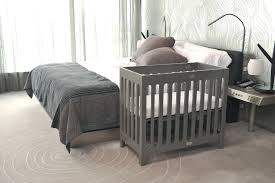 Alma Bloom Mini Crib Bloom Alma Crib Frame To Make The Space Work Or