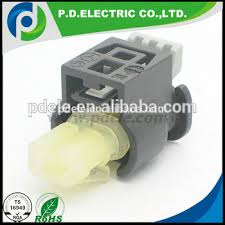 2 pin female hirschmann socket housing wiring connector 805 120