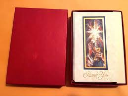 vintage barton cotton box of 16 religiousthank you note cards 5x2
