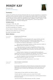 Process Technician Resume Sample by Engineering Technician Resume Samples Visualcv Resume Samples