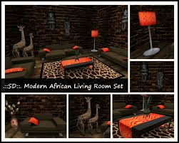 second life marketplace sd modern african living room set