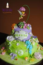 tinkerbell cake tinker bell garden two tier two tier 6 10 covered in