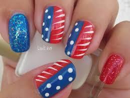nail art fourth of july nails decoracion uñas para el cuatro