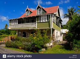 old style colonial house grenada