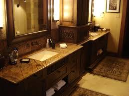 Vanity With Granite Countertop Dramatic Change With Bathroom Granite Countertops Home