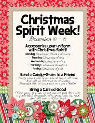 slightly askew designs christmas spirit week