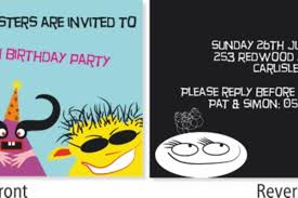 Software For Invitation Card Making Creating A Party Invitation Card Corel Discovery Center