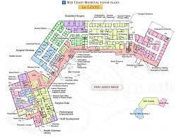 how to design a floor plan mid coast hospital floor plans level 1 hospital