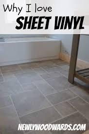 why i sheet vinyl a comparison of sheet vinyl to tile floors