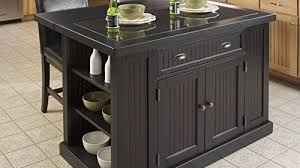nantucket kitchen island home styles nantucket granite top kitchen island and stools 3