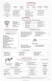 lunch u0026 dinner menu dc founding farmers