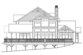 House Plans For Sloping Lots Craftsman House Plans Stratford 30 615 Associated Designs