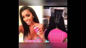 porsha williams stewart hairline porsha williams natural hair all real just like her body no hair