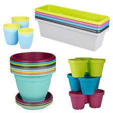 plastic garden plant pots ebay