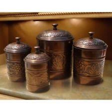 brown kitchen canister sets metal kitchen canister sets ebay
