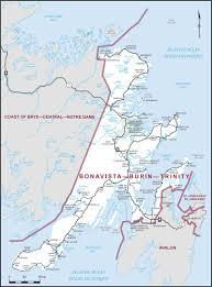 Newfoundland Map Bonavista U2013burin U2013trinity Maps Corner Elections Canada Online