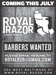 baltimore barbershop starts city paper media campaign royal razor