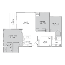 two apartment floor plans floor plan h greenbelt apartments