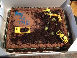 construction themed costco sheet cake with