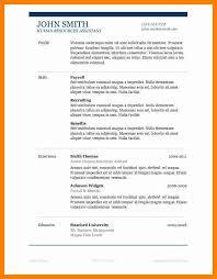 popular resume styles current resume formats resumessscanbiteco