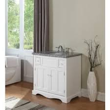White Vanity Cabinets For Bathrooms White Bathroom Vanities U0026 Vanity Cabinets Shop The Best Deals