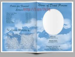 free sle funeral programs templates classic funeral program template memorial service bulletin