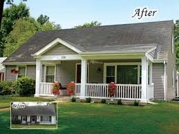 ranch homes with front porches 20 home exterior makeover before and after ideas home stories a to z