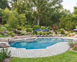 paver around pool houzz