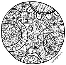 9 images simple zentangle printable bookmarks color