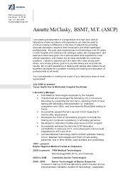 resume medical technologist microbiology mcclasky annette resume 2015