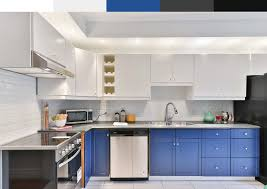 blue kitchen cabinets grey walls best colors for kitchen with white cabinets