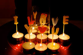 sorprese con candele innamorati modamuriel