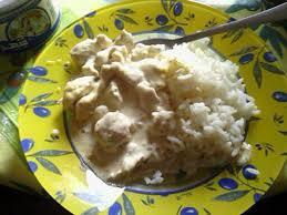 cuisiner du riz blanc recette d escalope sauce creme et riz blanc