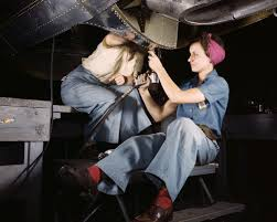 Aircraft Machinist Rosie The Riveter Irl Meet The Women Who Built Wwii Planes