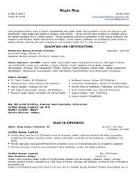 Sample Er Nurse Resume by Med Surg Telemetry Resume Contegri Com