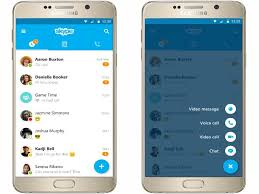 new android update skype for android s update brings a new material design