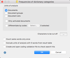 Count Same Words In Document Maxqda Manual Determine Frequency Of Dictionary Categories