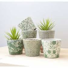 Shabby Chic Flower Pots by Shabby Chic Garden